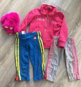 Детский спортивный комплект Benetton, adidas