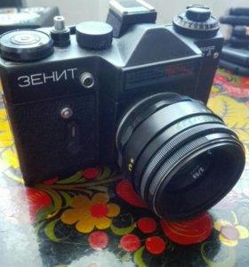 Плёночные советские фотоаппараты
