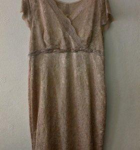 Платье гипюртвое