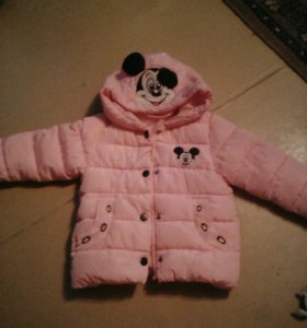 Зимний комбинзон и куртка