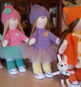 Куколка текстильная интерьерная