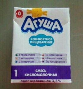 Агуша кисломолочная 1