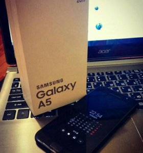 Продам Samsung Galaxy A5 (2017) SM-A520F Black