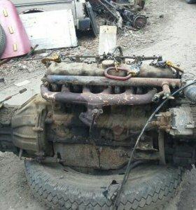 Двигатель с кпп на Юджин 1080 Бав 1065