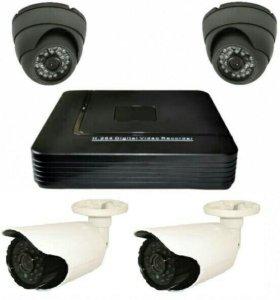 Видеонаблюдение  комплект №-605\AHD