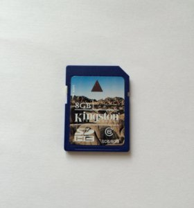 SD карта памяти 8gb