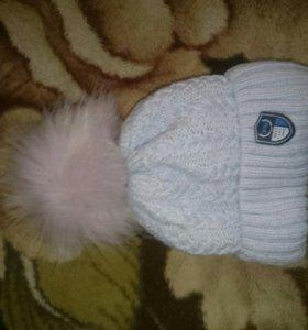 Зимняя шапочка от 0 до 6 месяцев