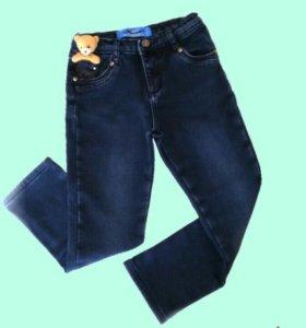 Детские джинсы с утеплением