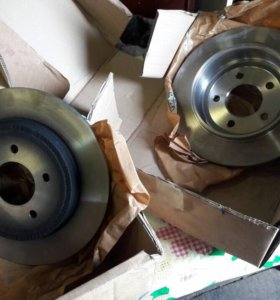 Задние тормозные диски