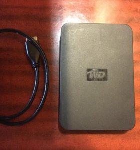 Внешний жесткий диск 500 Гб WD