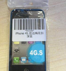 Бампер метал.для iPhone 4S