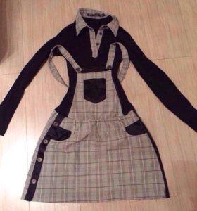 Платье - комбинезон