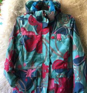 Горнолыжная сноуборд куртка Exxtasy S