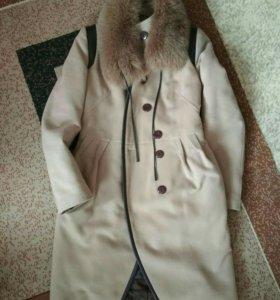 Продам зимние пальто 44-46 р