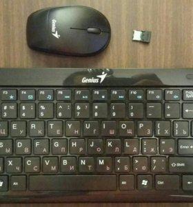 Беспроводная Клавиатура+мышь Genius LuxeMate i8150