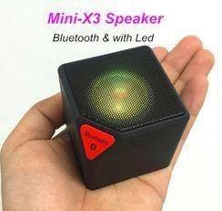 Колонка Bluetooth MP3 Led X3 mini