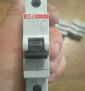 Автоматический выключатель ABB C16