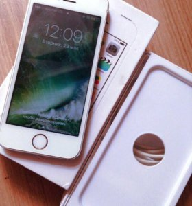 iPhone 5S silver 64GB без Touch ID б/у