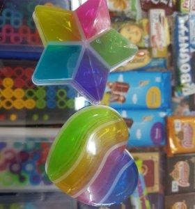 Лизун фигурный разноцветный