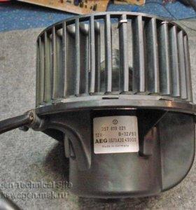Мотор-вентилятор отопителя passat b4