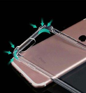 Противоударный чехол на Iphone 5 ,6 s se