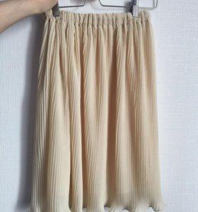 Новая юбка плиссе в складку