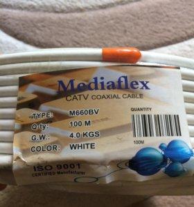 Коаксиальный кабель 100м.,новый