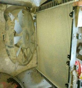 Радиатор ГАЗ-31105