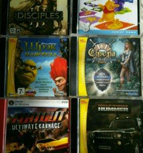 Новые игровые диски