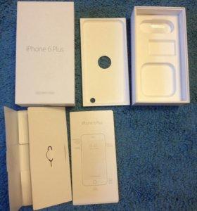 Коробка от Айфона 6 плюс
