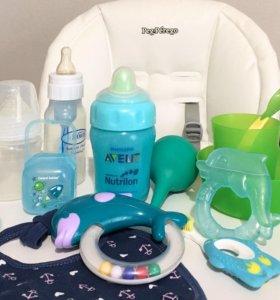 Пакетом нужные вещи для малыша