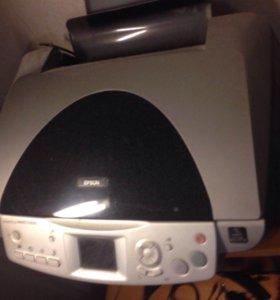 Принтер+сканер.