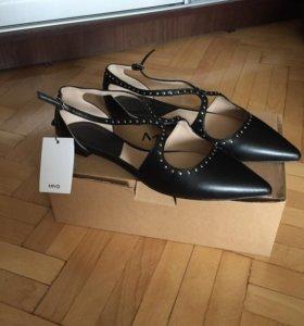 Новые туфли Mango р.39