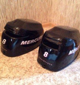Крышка Капот лодочного мотора колпак меркурий 8-99