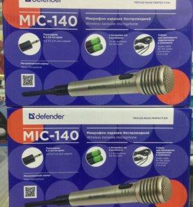 Беспроводной микрофон Defender MIC-140