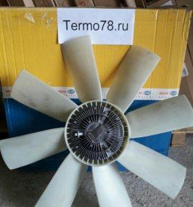 Термомуфта вольво в сборе с крыльчаткой