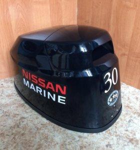 Nissan marine 30 2 и 4 такта колпак Ниссан марин