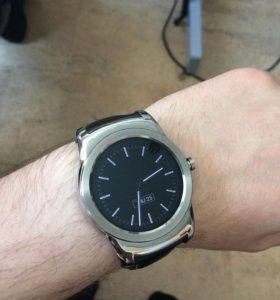 Умные часы на android wear Lg g watch urbane