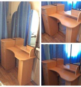 Туалетный столик трюмо новый с зеркалом