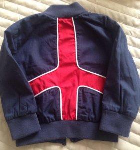 Куртка бомбер Moschino baby 9 m