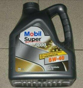 Масло Mobil 5-40 4л