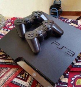 PS3 320гига прошитый