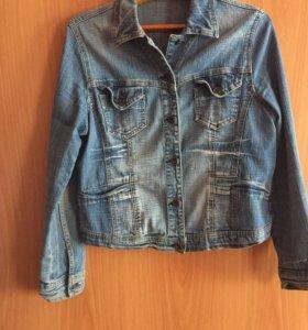 Джинсовая куртка,размер 48