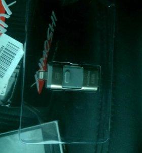 Флешка 3в1 Apple.usb,mini usb