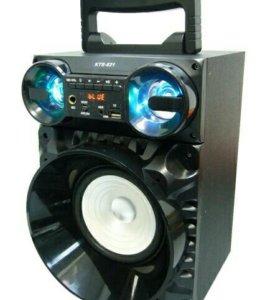 Колонка портативная с BLUETOOTH MP3 KTS-821