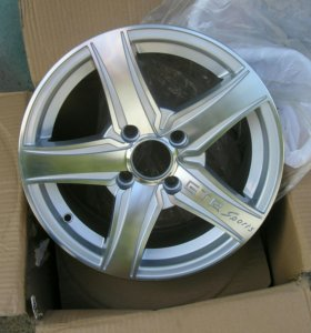 Новые диски GTR R14 4x100