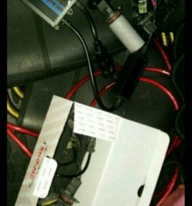 Лампы hb 4. 4 шт. 4300к + 1 блок розжига