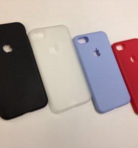 Силиконовый чехол iPhone 7