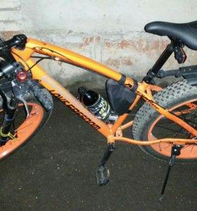 велосипед фэтбайк новый