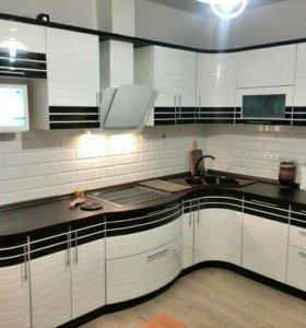 Кухонный гарнитур, кухня Бостон 018
